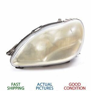 Details About 2000 2002 Mercedes Benz S500 W220 Front Left Driver Side Headlight Xenon