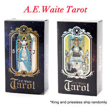 1Set Tarot Cards Deck Vintage bunte Box Future Telling Game Party Supply ZP W HH