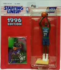 Kevin Garnett Starting Lineup NBA Rookie Card And Action Figure 1996 Kenner