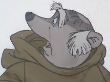 Original 1973 DISNEY ROBIN HOOD Animation Cel featuring FRIAR TUCK hard to find