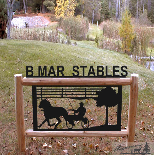 HARNESS RACING - HORSES - CLINGERMANS OUTDOOR SIGNS - EQUESTRIAN   in stock