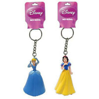 6 Disney Princess Cinderella Snow White 3d Keychain Ring Birthday Party Favors