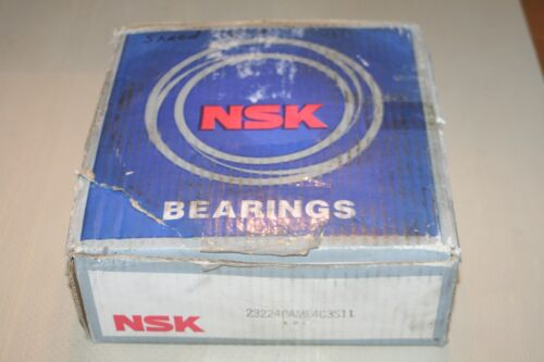 New NSK 23224 CAME4C3S11 Spherical Bearing 23224CAME4C3
