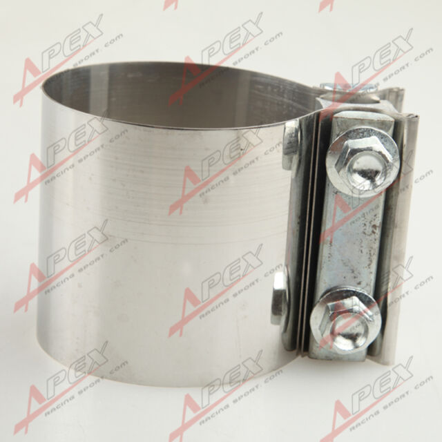 "2.5 "" Stainless steel Exhaust Flat Band Clamp  /Clamps"