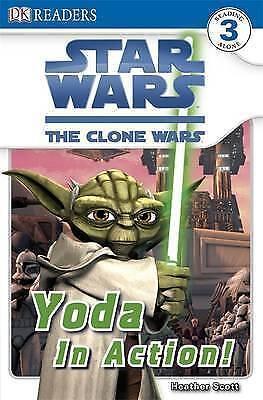1 of 1 - Star Wars Clone Wars Yoda in Action! by Dorling Kindersley Ltd (Paperback, 2009)