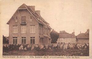 Gruen-le-grand-villa-Schule-fuer-die-3-Bezirk-de-paris