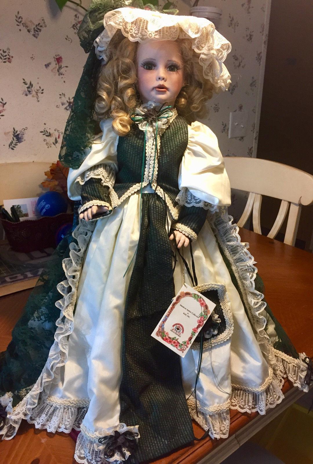 'Brianna'  porcelain bambola from American Artists Collection  senza esitazione! acquista ora!