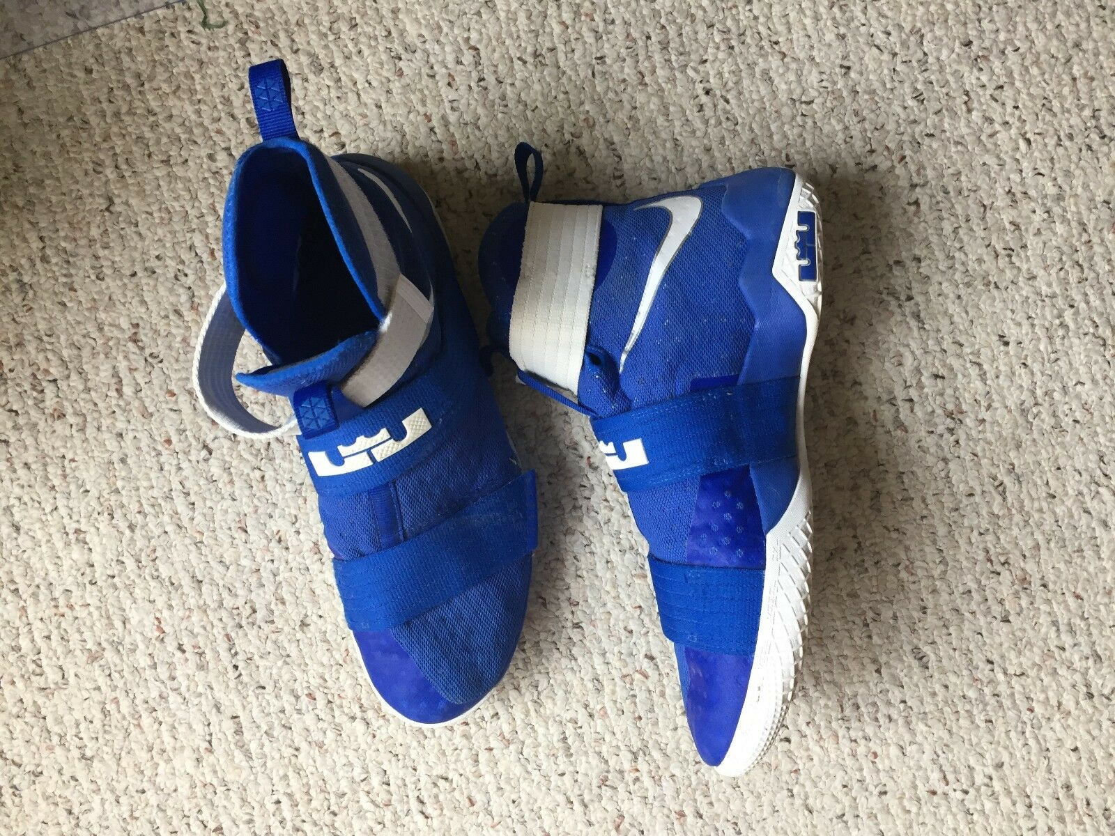 Nike Labron Soldier Mens shoes Royal bluee Size14