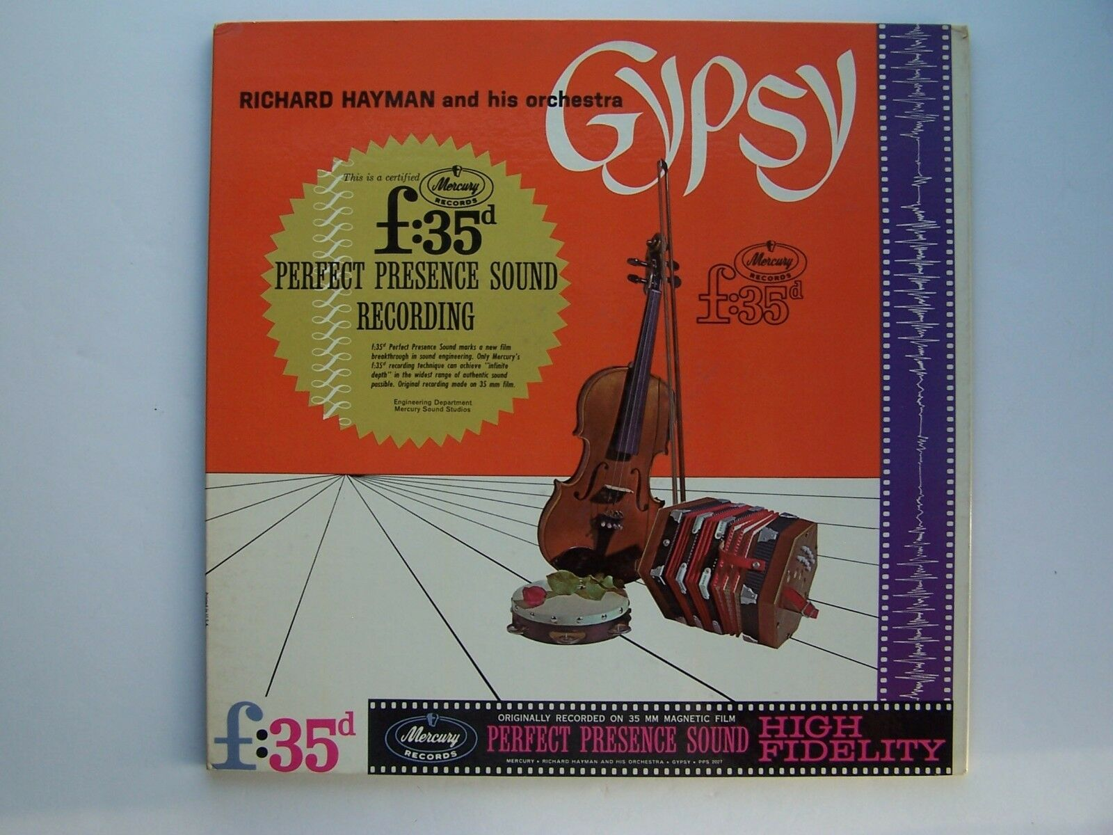 Richard Hayman And His Orchestra - Gypsy Vinyl LP Recor