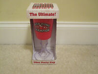 Red Solo Cup Ultimate Party Beer Pong Champion Plastic In Box Beer/wine Stem