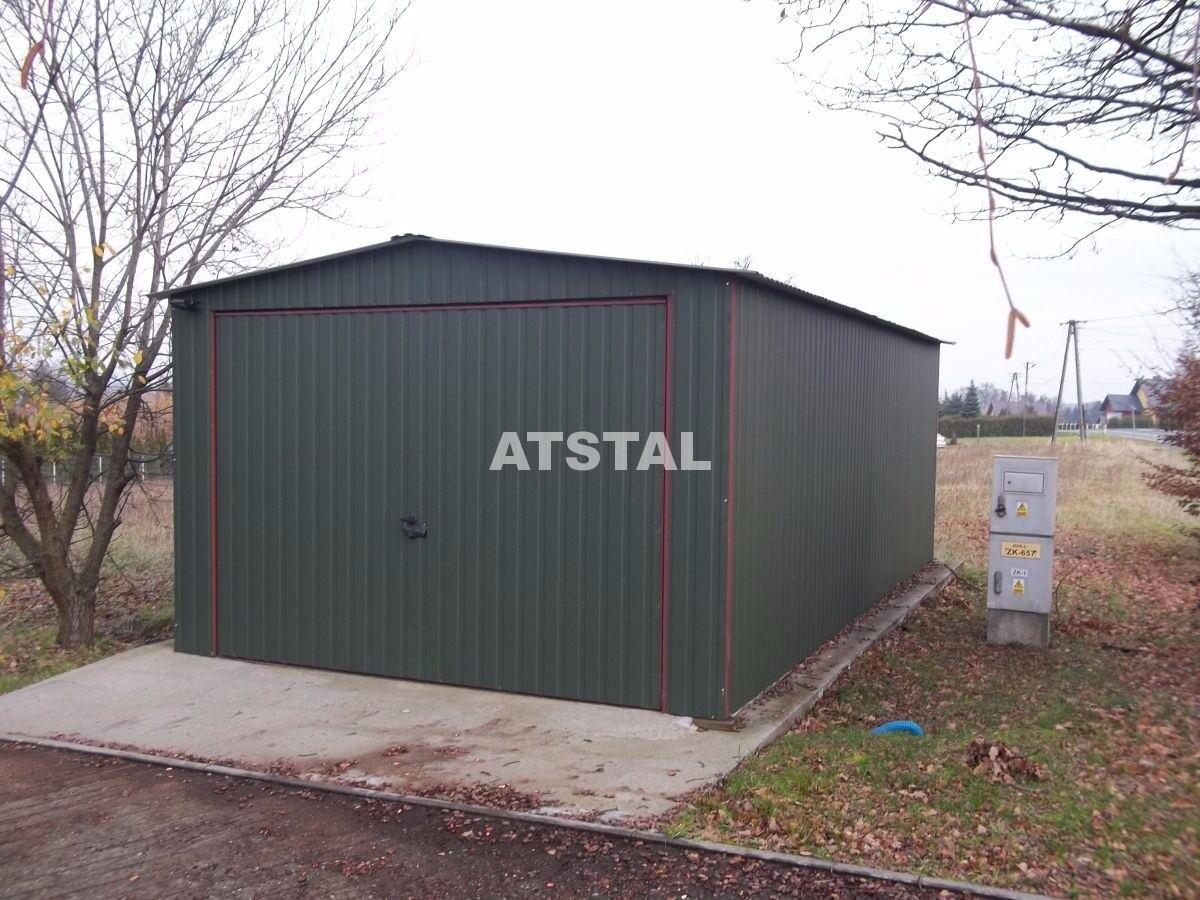 Blechgarage Garage Schuppe Stahlhalle 3,5x5 KFZ LAGER verzinkt Garagen +Aufbau
