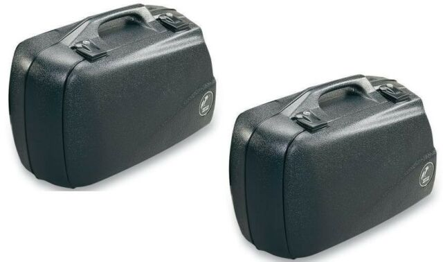 Side Case Set Suitcase Junior 40 Black by Hepco & Becker for Motorcycle New