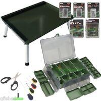 Terminal Tackle Box Set Carp Fishing Tackle Baiting Needles + Bivvy Table Ngt