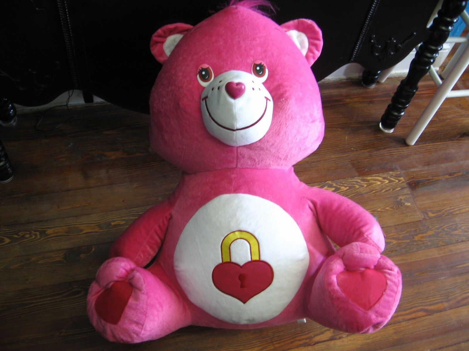 32  plush jumbo Secret Bear, Care Bears doll, good condition