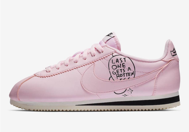 Size 11 - Nike Classic Cortez x Nathan Bell Pink Foam 2019