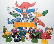 DC Super Friends Figure Set of 12 with Batman Superman,Flash, Joker and More!