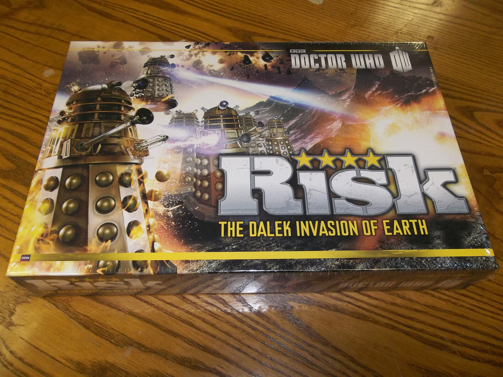 DOCTOR WHO RISK The Dalek Invasion Invasion Invasion of Earth   New + Still Sealed   1a2a71