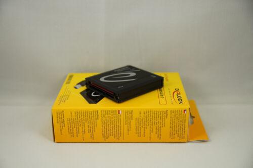 Delock Multi-in-1 SuperSpeed USB 3.0 Card Reader//Writer SD SDHC SDXC CFI CFII