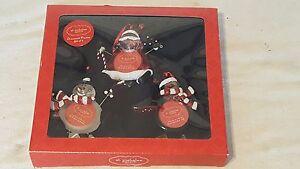 image is loading st nicholas set of 3 frame christmas ornaments