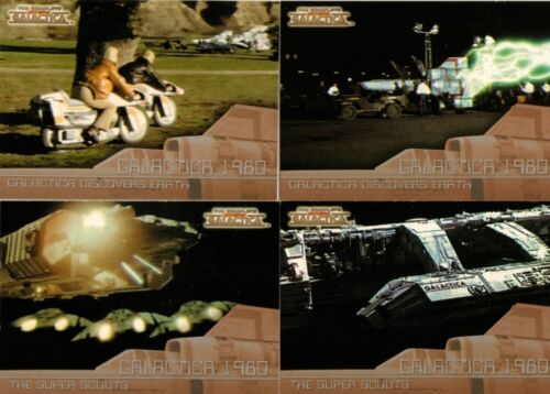 Battlestar Galactica Complete Full 20 Card /'Galactica 1980/' Chase Set ~ New