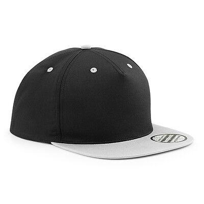 NEU -  Beechfield 5 Panel Contrast Snapback - Baseball Cap - Basecap - 7 Farben