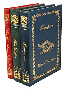 Easton-Press-RICHARD-PAUL-EVANS-Timepiece-Christmas-Box-Letter-Limited-Edition