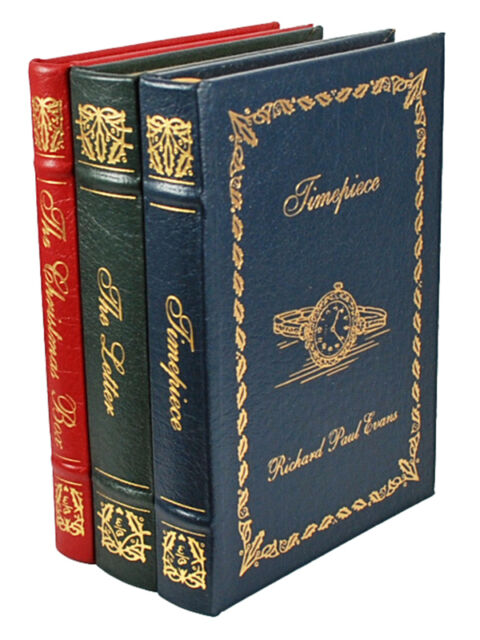 Easton Press RICHARD PAUL EVANS Timepiece Christmas Box Letter, Limited Edition