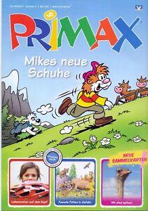 05-2016-Poster-Mikes-neue-Schuhe-PRIMAX-VR-Bank-Kinder-Comics-Heft-Zeitschrift