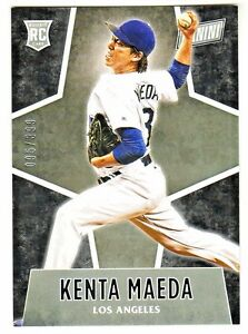 2016-Panini-Black-Friday-67-KENTA-MAEDA-RC-Rookie-399-Dodgers-QTY-AVAILABLE