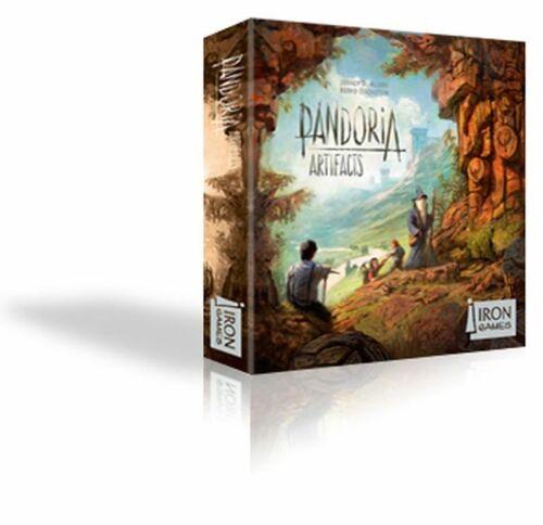 Spiel ARTIFACTS ERWEITERUNG DEUTSCH // ENGLISCH Iron Games PANDORIA OVP