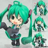 "ANIME VOCALOID Nendoroid 129# Green ORCHESTRA Hatsune Miku 4"" Action Figure Toy"