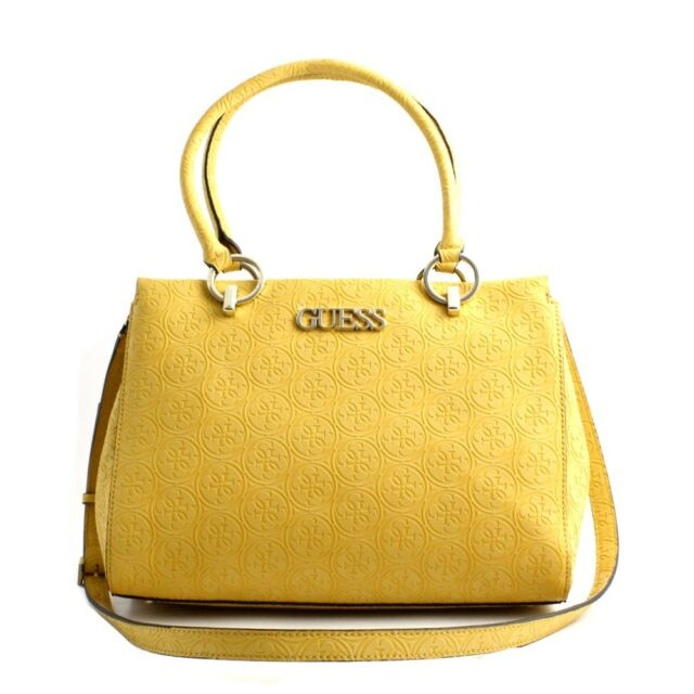 guess handtasche gelb