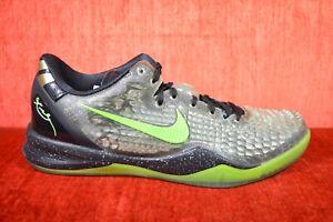 258080f5ba4b WORN ONCE Nike Kobe 8 VIII System SS Christmas Black Green Size 11 ...