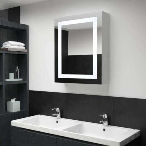 LED-Bad-Spiegelschrank 50 x 13 x 70 cm P4Z0