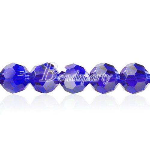 Lot de 70 Perles Facettées En Cristal Facette Ronde 10mm Création Bijoux CR0365