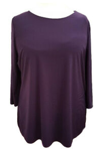 Womens-New-Tunic-Top-Blouse-3-4-Sleeves-Sofo-Curves-UK-Plus-Sizes-16-18-20-22-24