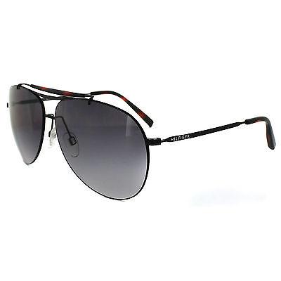 Tommy Hilfiger Sunglasses 1118 003 EU Matt Black Grey Gradient