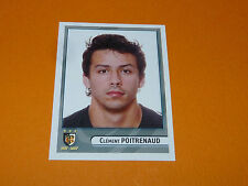 N°404 POITRENAUD STADE TOULOUSAIN TOULOUSE PANINI RUGBY 2007-2008 TOP 14 FRANCE