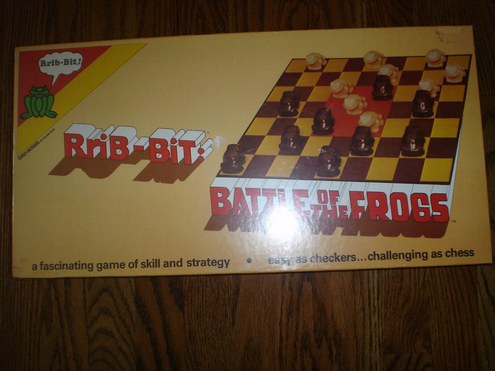 RriB-Bit   Battle of the Frogs gioco 1982 Genesis Enterprises Still In Shrink Wrap  protezione post-vendita