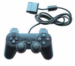 Joypad-Gamepad-Controller-fuer-Playstation-2-PS2-und-Playstation-1-PS1-Neu