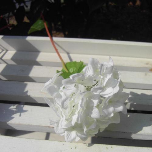 Hot Artificial Craft Hydrangea Bouquet Party Wedding Fake Bridal Silk Flowers