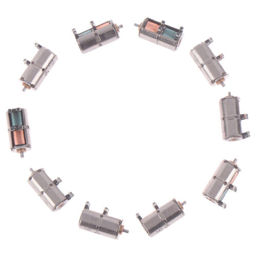 10PCS Mini 4mm 2-Phase 4-Wire Stepper Motor DC 5V Precision Stepping Motor-SL
