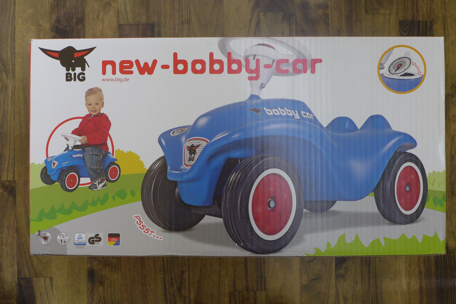 1x 1x 1x D'origine FORD BOBBY CAR BIG Bleu BAGHERA 35020561 77e239
