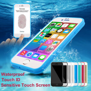 For iPhone 7 8 Plus Xs MAX XR Waterproof Shockproof Dirtproof Hybrid Case Cover