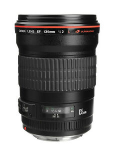 Canon EF 135mm F2 L USM Telephoto Lens