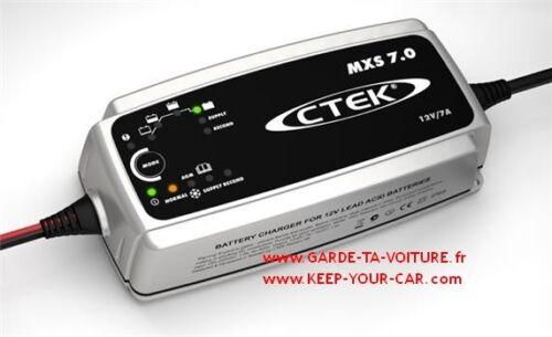 automatic charger CTEK MXS 7.0 12V 7A chargeur de batterie automatique