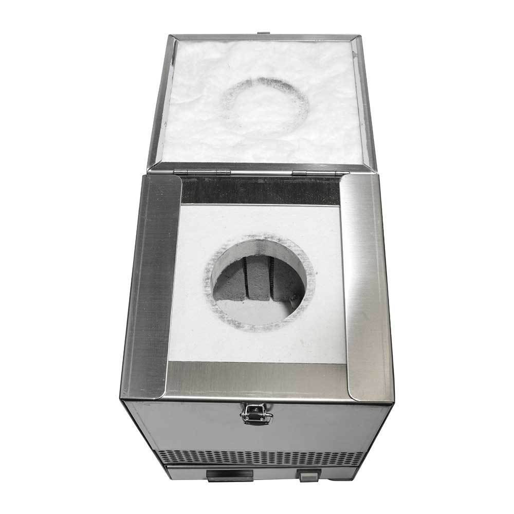 Hardin HD-2341SS Stainless Steel Tabletop Melting Furnace with 1kg Crucible 110 Volt