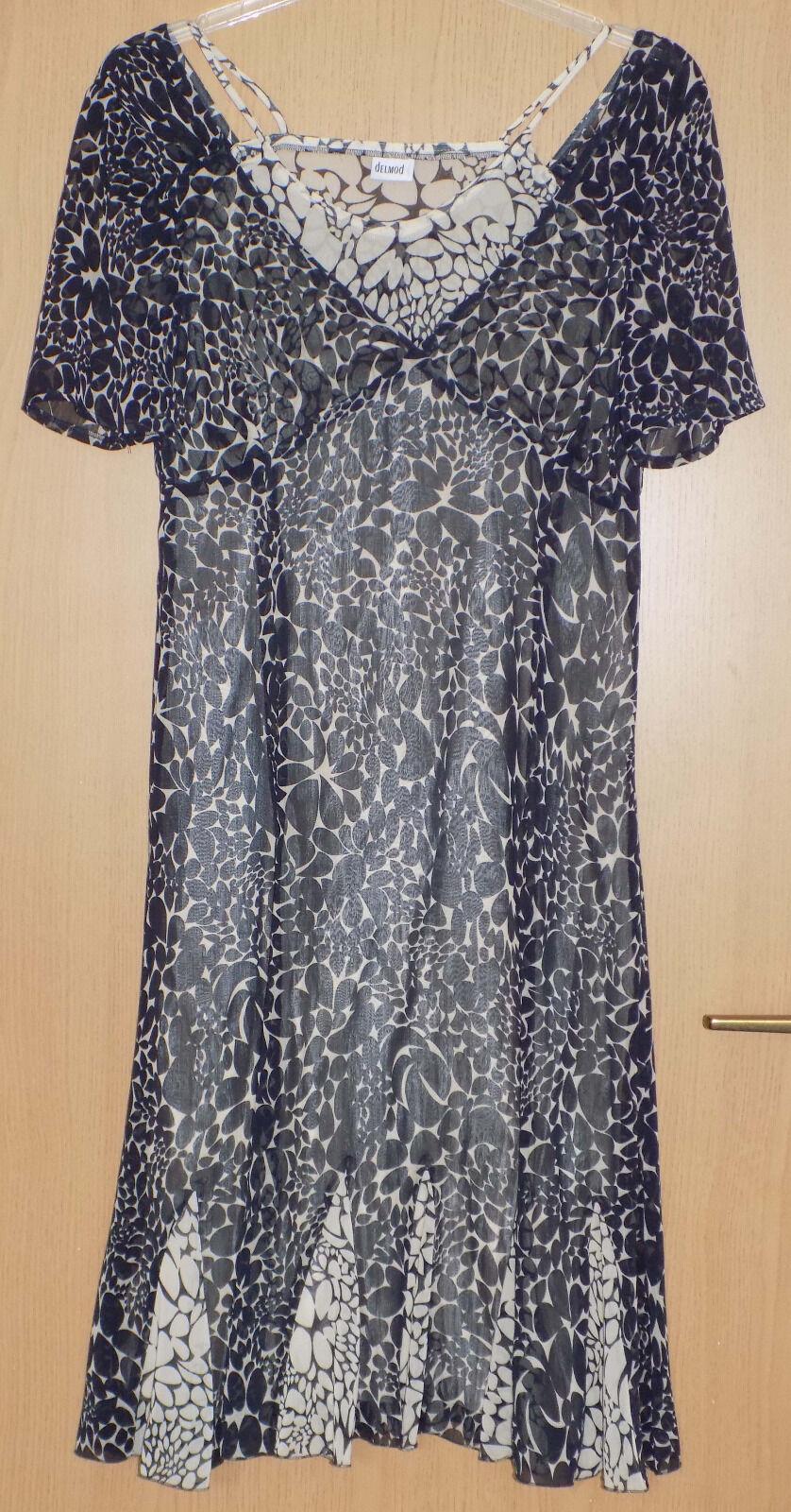 Delmod Kleid Gr.38 Wunderschönes Damen NEUwertig