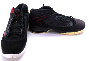 buy popular 2626d db1ec Image is loading Nike-Shoes-Jordan-Flight-Power-Black-White-Red-