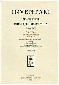 Inventari dei manoscritti delle biblioteche d'Italia. Vol. 113: Mantova. Bibliot